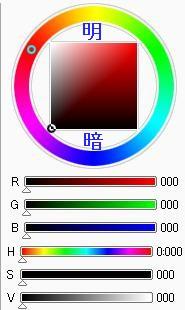 カラーサークルの説明